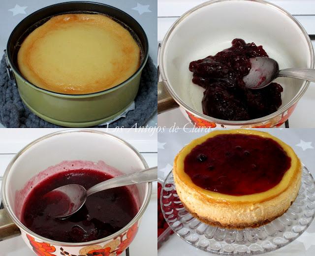 Preparación cheesecake o tarta de queso