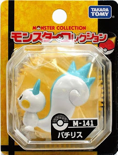 Pachirisu figure Takara Tomy Monster Collection M series