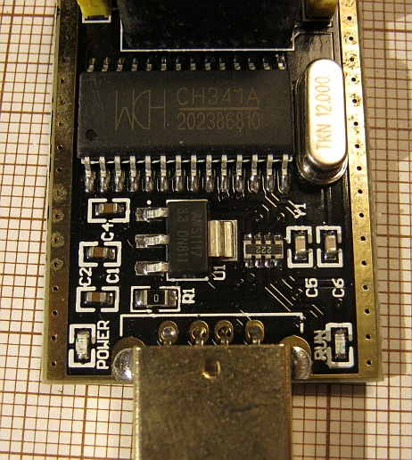 Common Emitter: CH341A serial memory programmer