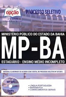 Baixar Apostila Concurso MP BA 2018 PDF Download