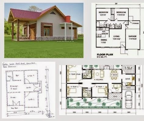 Desain Rumah  Sederhana  Dengan Biaya Murah Tapi  Mewah