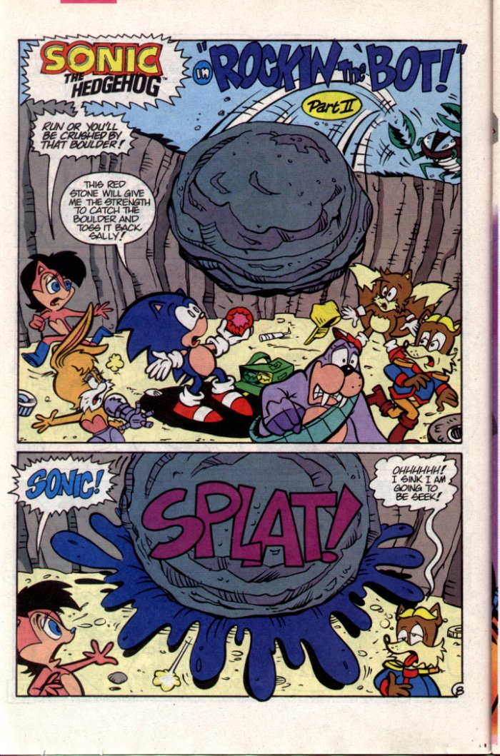 Read online Sonic The Hedgehog comic -  Issue #15 - 9