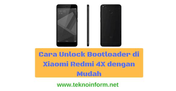 cara-unlock-boatloader-xiaomi-redmi-4x