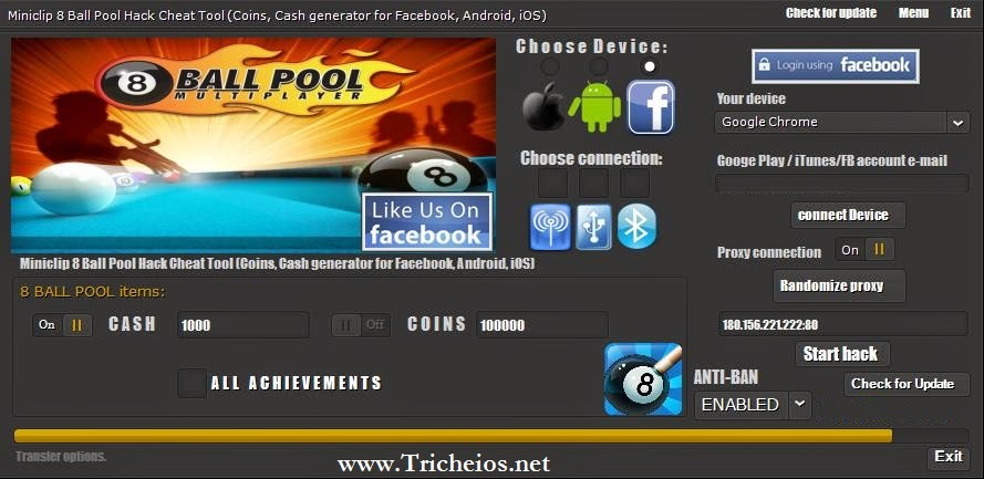 8 Ball Pool Hack Tool - 8 Ball Pool Cheats - iOS, Android ...