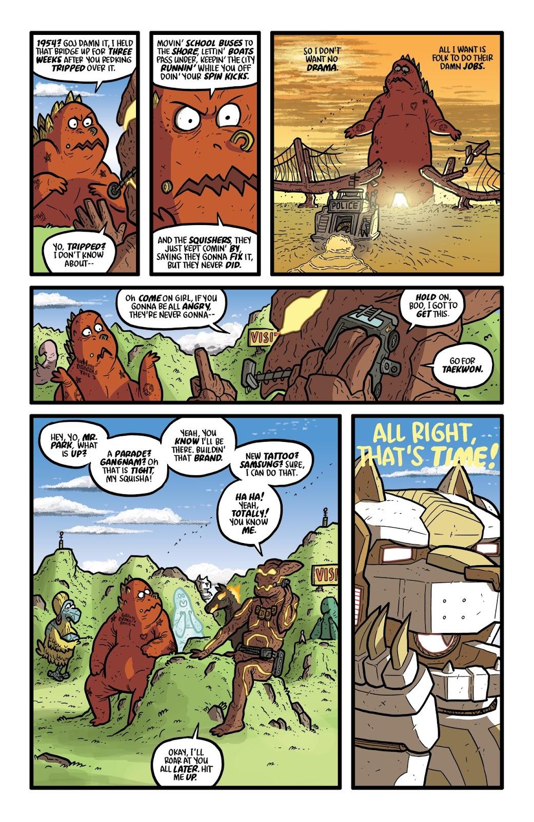 Read online Kaijumax: Season Four comic -  Issue #2 - 12