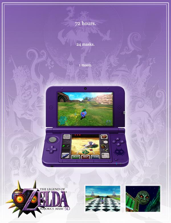 3DS] Une 3DS XL Majora's Mask plus vrai que nature !