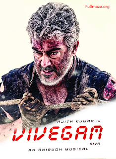 Vivegam (2017) Hindi Dubbed HDRip 250Mb hevc