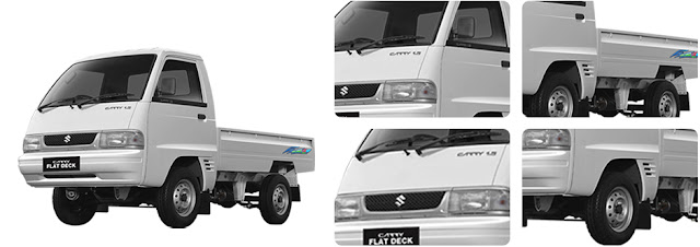SUZUKI CARRY FUTURA PICKUP EXTERIOR