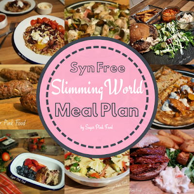 Syn Free Slimming World Meal plan and recipes