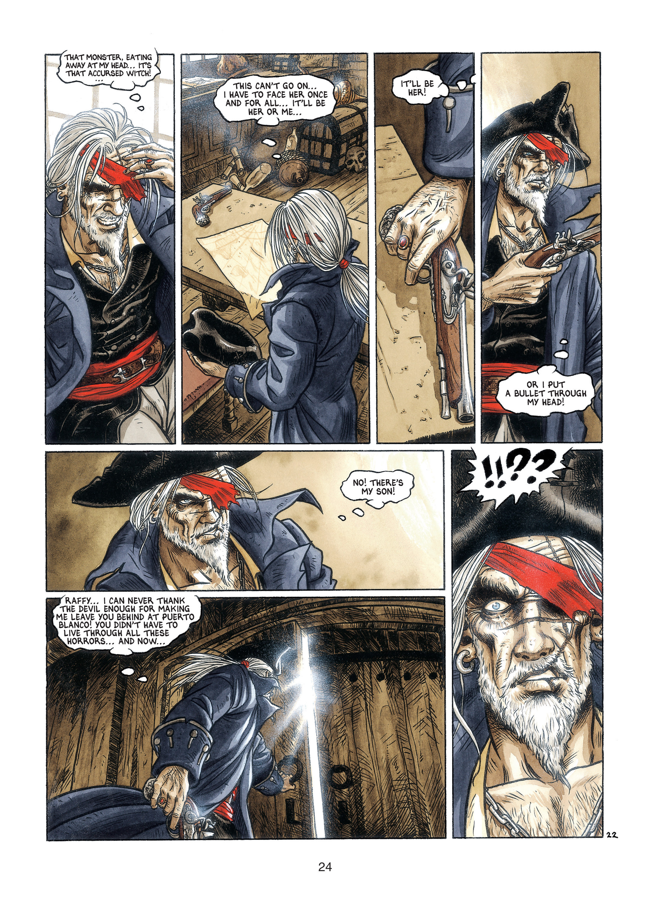 Read online Barracuda comic -  Issue #3 - 25