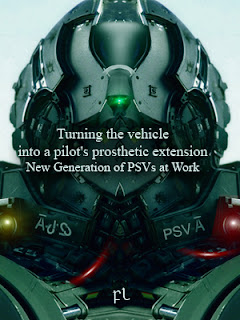 Turning the vehicle into a pilot's prosthetic extension: New Generation of PSVs at Work Cover