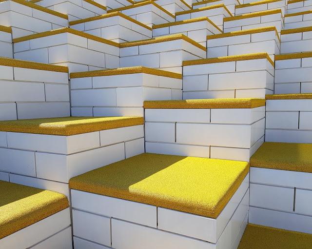 10 Tipps für den Besuch des LEGO House. Die Architektur des Gebäudes ist eine Atrraktion an sich.