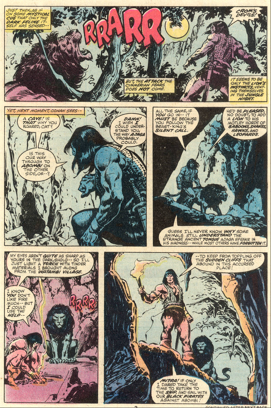 Conan the Barbarian (1970) Issue #96 #108 - English 4