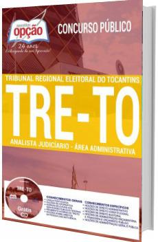 Apostila TRE-TO 2017 Analista Judiciário - Área: Administrativa