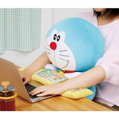 Doraemon Keyboard Wrist Rest