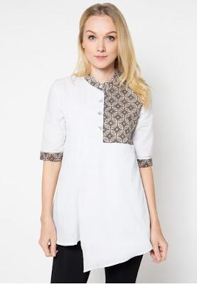 Baju Atasan Batik Wanita Modern