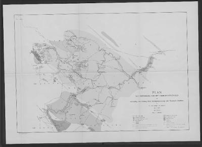 Peta Perencanaan Tambang Ombilin De Greve 1870