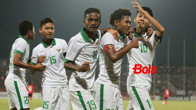 Indonesia Menang Atas Kamboja 3 - 0