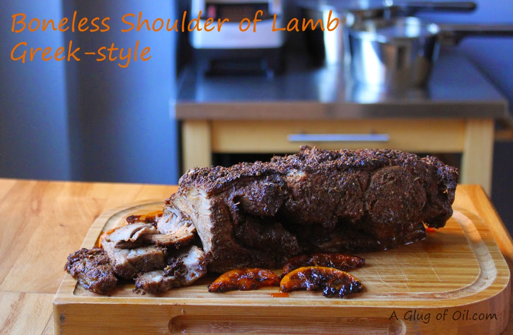 Greek-style Shoulder of Lamb