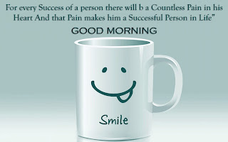 for every success of person - funny good morning smile picture