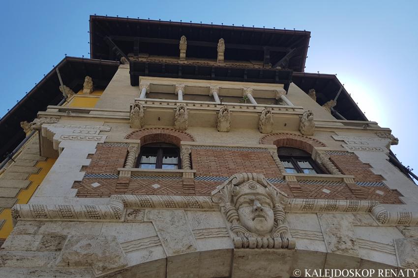 Pałac Pająk w dzielnicy Coppede