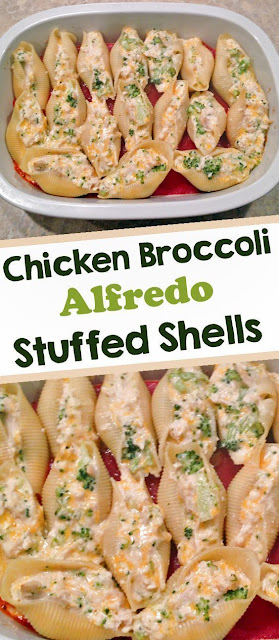 Chicken Alfredo Stuffed Shells Recipe