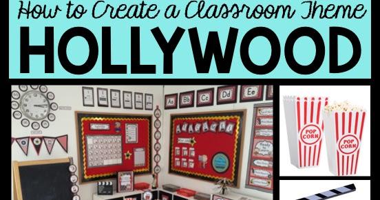 hollywood themed classroom ideas printable classroom decorations