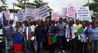 Ijaw Youth Faction Protests Against EFCC Over Patience Jonathan's Probe