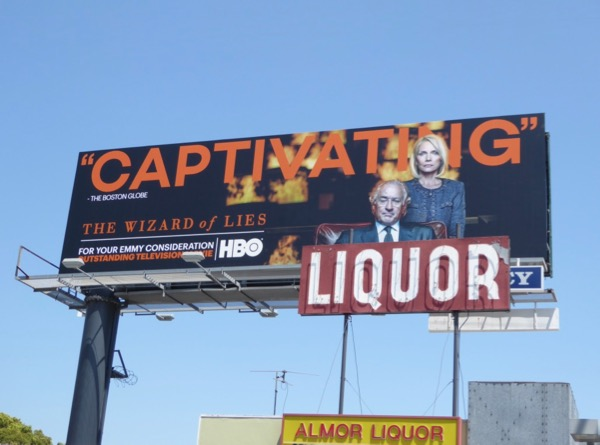 Wizard of Lies Emmy nominations billboard