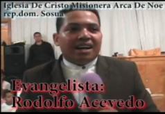 Evangelist Rodolfo Acevedo Hernandez