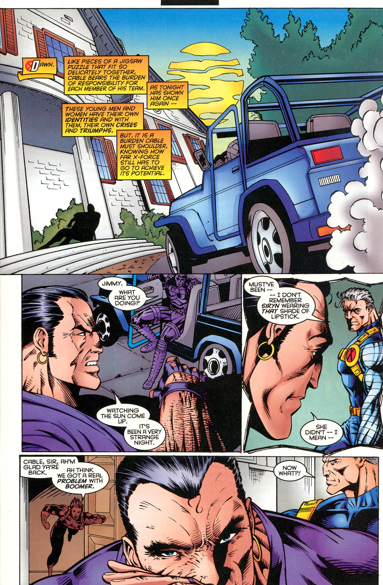 Read online X-Force (1991) comic -  Issue #51 - 23