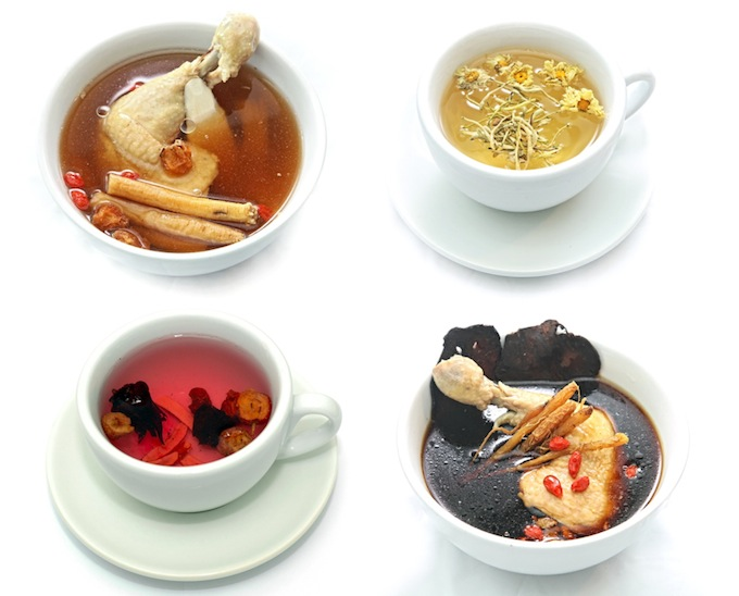 traditional chinese herbal soups and teas
