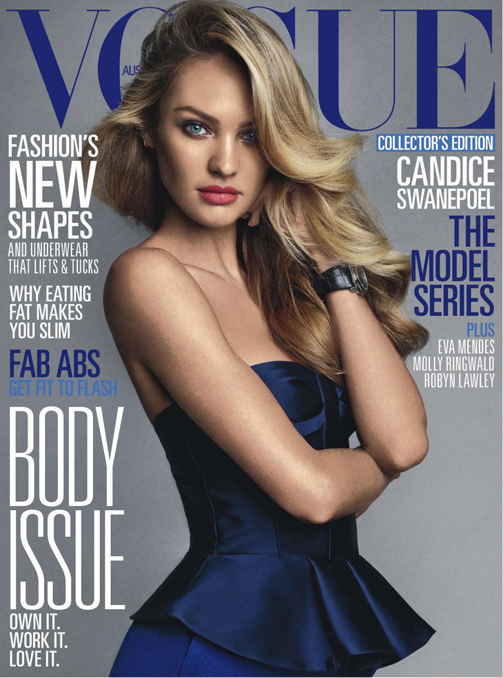 Models Cache: Candice Swanepoel For Vogue Australia June 2013