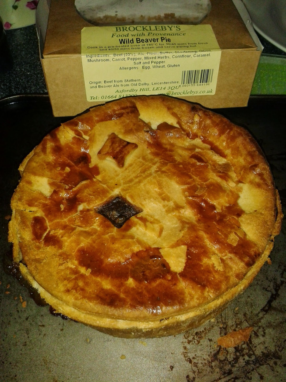 """Brockleby's """"Wild Beaver"""" Steak and Beaver Ale Pie Review"""