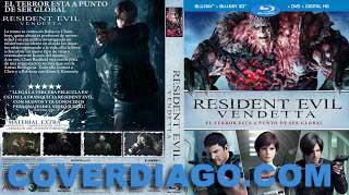 Resident Evil Vendetta - BLURAY / 3D
