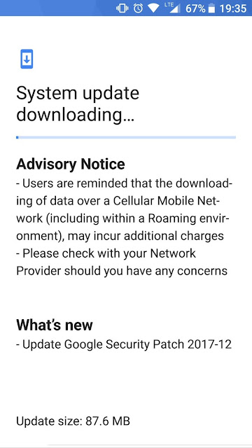Nokia 8 starts receiving the December Security Update