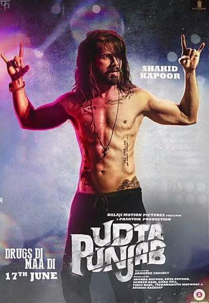 Poster Of Udta Punjab 2016 480p DVDScr Full Movie 300MB Download