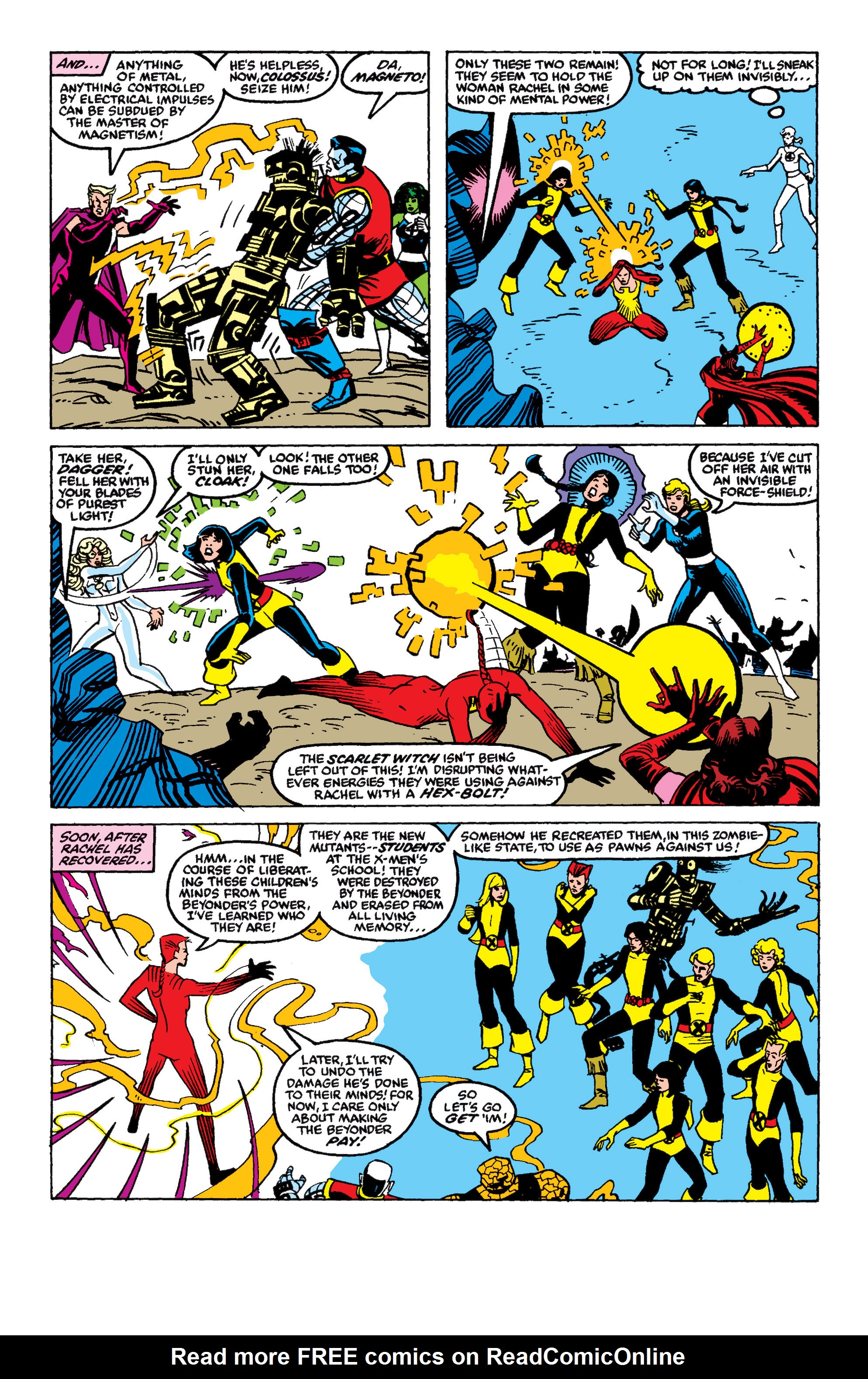 Read online Secret Wars II comic -  Issue #9 - 26