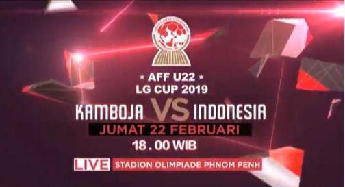 Siaran Langsung Kamboja vs Indonesia - Piala AFF U-22 2019