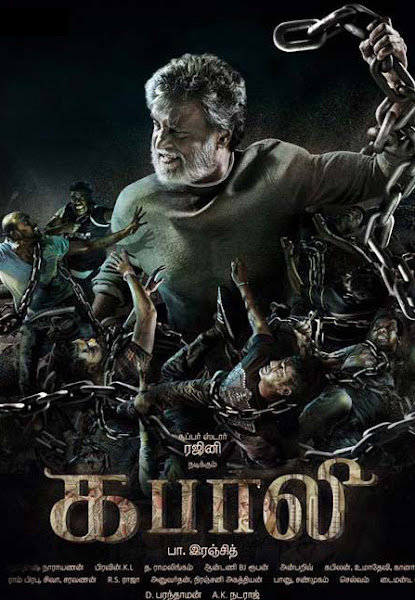 Poster of Kabali 2016 480p Tamil CAMRip Full Movie Download And Watch Online