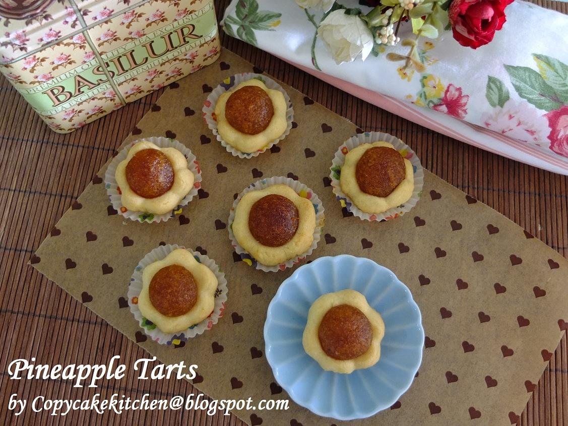 Taiwan Pineapple Honey Cake Recipe