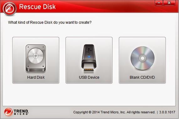 Trend Micro Rescue Disk 3.0.0.1023 | Disco de rescate antivirus para bootear desde CD o USB