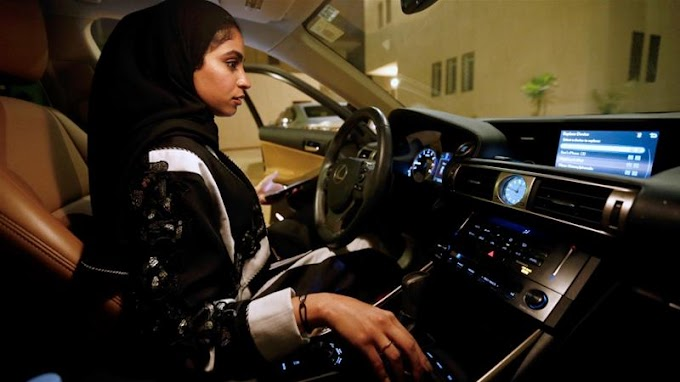 Saudi women hit the road as driving ban is lifted