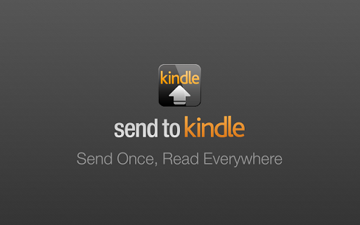 Download Send to Kindle CRX Extension of Chrome Avaialble