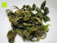 übrig gebliebene Blätter: Emerail Premium Grüner Tee - Ziran