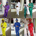 Meet man whose outfits match his phones and hats