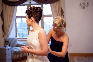 Aberdeenshire wedding hair, hairstyle, wedding, wedding dress, bridal hairstyle