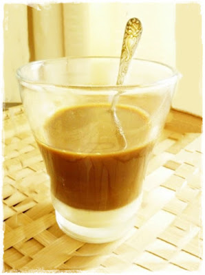 glass of vietnamese coffee