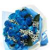 Handbouquet Mawar Biru