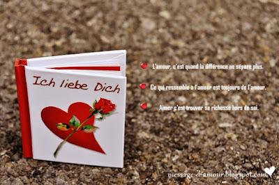 carnet de textes d'amour